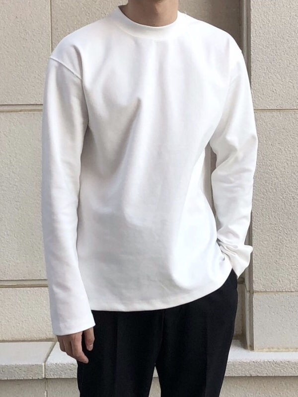 Highneck long sleeve